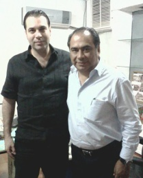 Héctor Astudillo, Gobernador de Guerrero (2015-2021) y Efraín Martínez, Consultor Político.