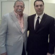 Egidio Torre, Gobernador de Tamaulipas (2011-2016) y Efraín Martínez, Consultor Político.