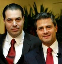 Enrique Peña Nieto, Presidente de la República (2012-2018) y Efraín Martínez, Consultor Político.