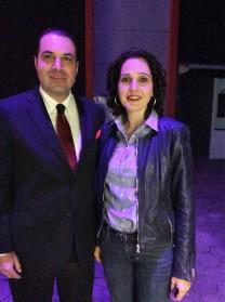 Tanya Müller, Secretaria de Medio Ambiente del D.F. (2015) y Efraín Martínez, Consultor Político.