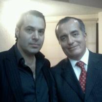 Luis Carlos Ugalde, Expresidente del IFE y Efraín Martínez, Consultor Político.