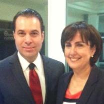 Patricia Mercado, Secretaria de Gobierno del D.F. (2015) y Efraín Martínez, Consultor Político.