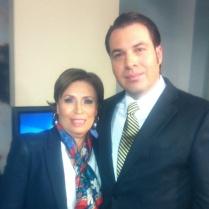 Rosario Robles, Exsecretaria de Desarrollo Social (2012-2015) y Efraín Martínez, Consultor Politico.